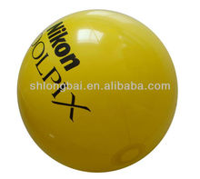 Yellow PVC Inflatable Ball