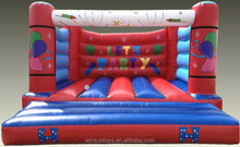 New style inflatable jumping bouncy castle play field for sale