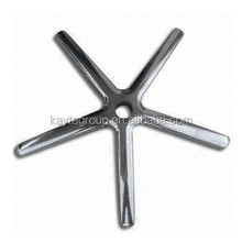 High quality aluminum alloy die casting chrome plated office chair base