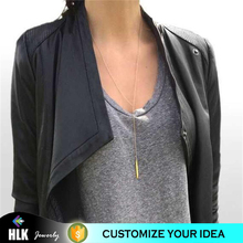 10k gold jewellery basketball long single pendant clavicle necklace