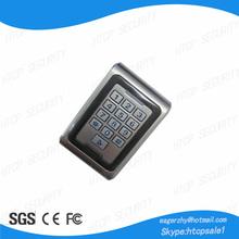 metal vandel-proof standalone access controller keypad