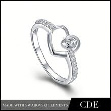 Arrival Charm Fashion Jewelry Heart Shaped Engagement Rings