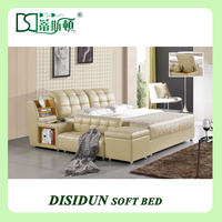Modern style wooden box bed design