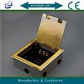 Piano presa elettrica scatola, supporto del pavimento scatole elettriche