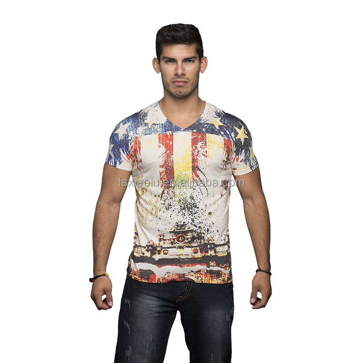 China Manufacturers Wholesale Transfer T Shirt