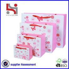 Dongguan branded factory Haiying custom fashion elegance paper handbag manufacturers thailand