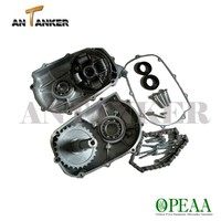 6.5hp Gasoline 168F 200cc go kart small engine parts GX200 2-1 REDUCTION GEARBOX (With Clutch PTO Shaft Diameter20mm, Key5mm)
