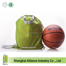 High Quality 210D Polyester Drawstring Bag For Basketball,Men Sports String Bagpack