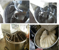 High efficiency automatic 50kg series spiral dough mixer from China