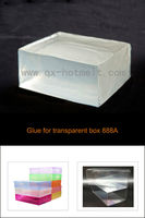 Cheshire hot melt glue for hot melt glue machine for PET transparent box