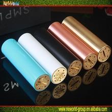 Pretty Price 510 ego thread Smpl Mod copper/brass/black hookah pen vaporizers mod