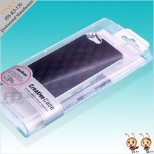 plastic packaging box for phone case,clear brilliant mobile case package