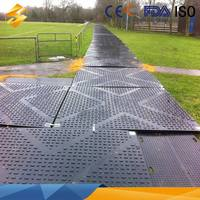 9 Years no complaint hdpe composite mats for protecting lawns with high quality