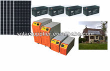 Best value prices!3KW 6kw,8kw Complete Solar Panel Off Grid kit For Home electricial villa system