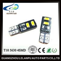 White Canbus T10 194 168 W5W 4 SMD 5630 LED Car Side Wedge Light Bulb New 12v car led light