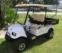 Two seater+Stake Bed/ Cheap used electric golf cart (R2CB3)
