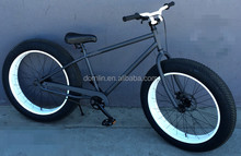 26 inch new style big tyre 7speed beach cruiser bicycle/ fat bike/fat bicycle with steel frame and disc brake, OEM offered