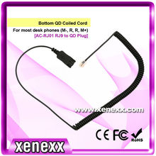 Phone accessories 2M coiled cord
