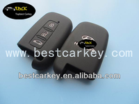 Topbest smart silicone key case for hyundai rena car key cover