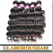 New arrival no shedding tangle free natural wave virgin kbl peruvian hair