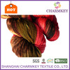Luxury quality fancy knitting yarn in mixed colors or solid color made from China manufacturer
