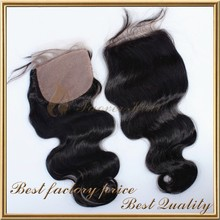 new product lace closure silk base closure for white woman
