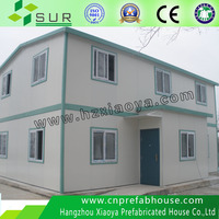 steel prefabricated house as living house and office hotel
