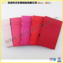 2015 Hot Sale Rich And Magnificent Practical Professional Leather Magic Card Wallet