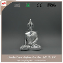 Wholesale Home Decoration,Resin Figures Gold Buddha Statue