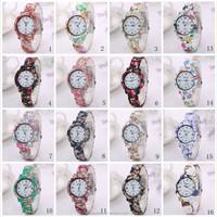 2015 popular watch geneva brand fashion beautiful ladies wrist watch