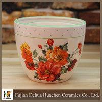 assorted sizes handmade custom paintable ceramic gardening flower pot