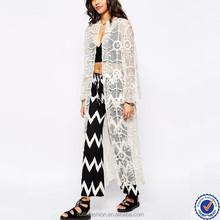 sex xxl online shopping 2015 women lace long kimono duster casual white lace cardigan