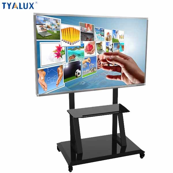 65 Inch 1920 x 1080 Full HD LCD Interactive smart board touch tv with LED backligh