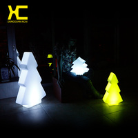 Chargeable Cordless Color Changing Garden Christmas Tree Led Light