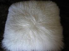 2015 wholesale colorful plush emoji pillows mongolian lamb fur pillow