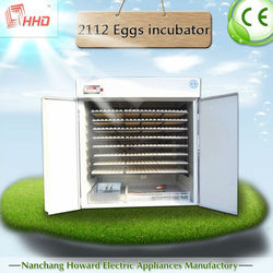 CE certificate industrial incubators for hatching eggs for sale at 2015
