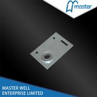 End bearing bracket for pu foamed garage door