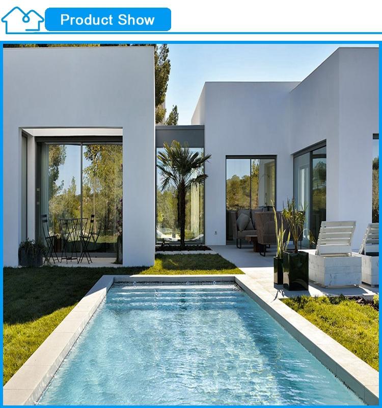Moderne und minimalismus vorgefertigte stahlkonstruktion for Minimalismus haus bauen
