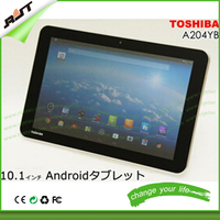 For A204YB tablet screen protector 10.1 inch, 9H 2.5D high clear tempered glass screen protector for Toshiba