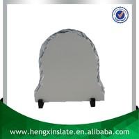 China Factory Direct Sales Cheap 20*20cm Polished Surface Blank DIY Image Sublimation Rock Slate Photo