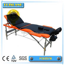 Mix color portable aluminum massage table for sale