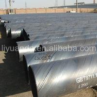 API 5L GRB X42 X50 X52 X60 SSAW spiral steel pipe