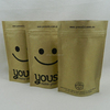 kraft paper stand up pouches;sos bags;self opening sacks