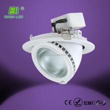 3 years warranty Common Use 3years warranty white chrom black silvery smd5630 90mm cutout downlight