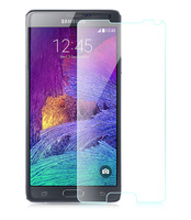 High Safety Coefficient Serface Hardness 9H Anti-Fingerprint 0.26mm Ultra thin Monile Phone Screen Protector for Samsung Note 4