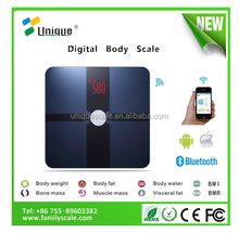 Health options perfect fitness bluetooth bmi body fat composition scale wireless