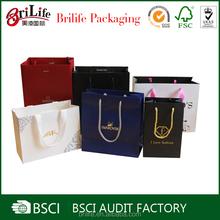 Cheap Custom Printed Luxury retail paper shopping bag