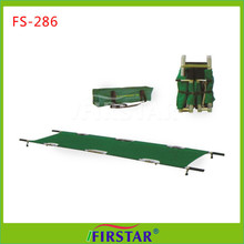 in hard pack foldable first-aid ambulance stretcher