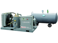 LGN-10/8G mining air compressor for sale mining air compressor screw compressor for mining