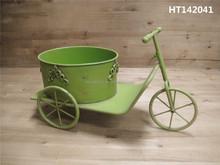 Vintage green bike decorative home decor